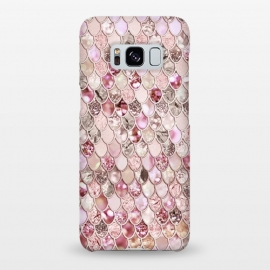 Galaxy S8+  Rose Gold Mermaid Scales by Utart