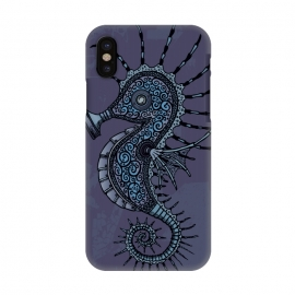 iPhone X  Fukushima Mon Amour Ultra Violet by Mangulica