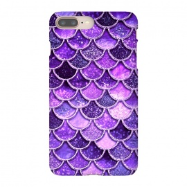 Ultra Violet Glitter Mermaid Scales by Utart