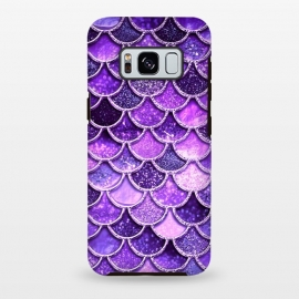 Galaxy S8+  Ultra Violet Glitter Mermaid Scales by Utart