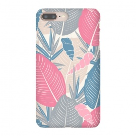 iPhone 8/7 plus  Tropical Watercolor Flower Pattern XI by Bledi