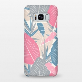 Galaxy S8+  Tropical Watercolor Flower Pattern XI by Bledi