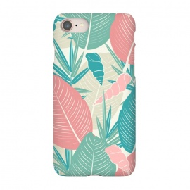 iPhone 8/7  Tropical Watercolor Flower Pattern XII by Bledi