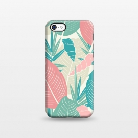 iPhone 5C  Tropical Watercolor Flower Pattern XII by Bledi