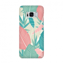 Tropical Watercolor Flower Pattern XII by Bledi