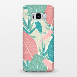 Galaxy S8+  Tropical Watercolor Flower Pattern XII by Bledi