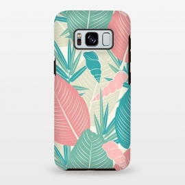 Galaxy S8 plus  Tropical Watercolor Flower Pattern XII by