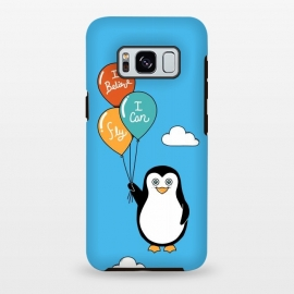 Galaxy S8+  Penguin I Believe I Can Fly by Coffee Man