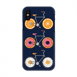 iPhone X  Food Bicycle 2 by Coffee Man