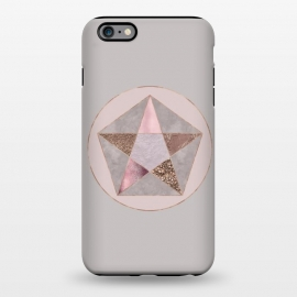 iPhone 6/6s plus  Glamorous Rose Gold Pentagon by Andrea Haase