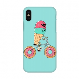 iPhone X  Donut Bicycle by Coffee Man