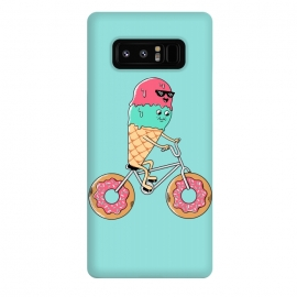 Galaxy Note 8  Donut Bicycle by Coffee Man