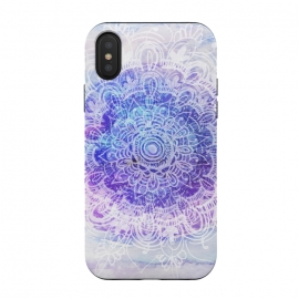 iPhone Xs / X  Mandala Bliss by Rose Halsey (Mandala,floral)
