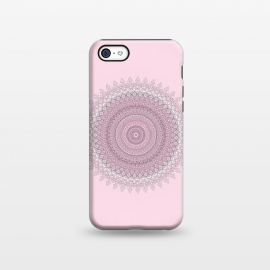 iPhone 5C  Soft Pink Mandala by Andrea Haase