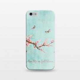 iPhone 5/5E/5s  Live Life in Full Bloom  by Utart