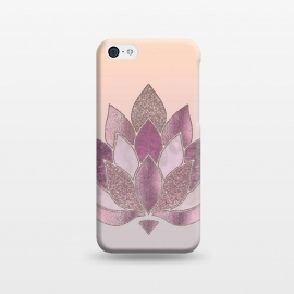 iPhone 5C  Shimmering Lotus Flower Symbol by Andrea Haase