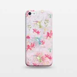 iPhone 5C  Hummingbirds all over by Utart