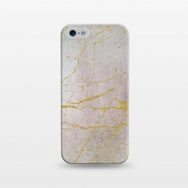 iPhone 5/5E/5s  Rose Gold Glamour Marble by Andrea Haase