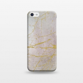 iPhone 5C  Rose Gold Glamour Marble by Andrea Haase
