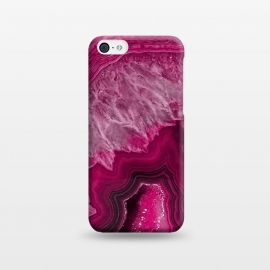 iPhone 5C  Pink Agate by Utart