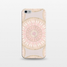 iPhone 5/5E/5s  Golden Touch Mandala Pattern by Andrea Haase