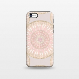 iPhone 5C  Golden Touch Mandala Pattern by Andrea Haase