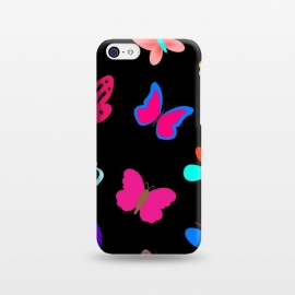 iPhone 5C  BUTTERFLY PATTERN by MALLIKA
