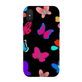 iPhone Xs / X  BUTTERFLY PATTERN by MALLIKA