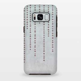 Galaxy S8+  Soft Pink Rhinestone Embellishment by Andrea Haase