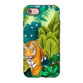 iPhone 8/7  Jungle Tiger by Uma Prabhakar Gokhale