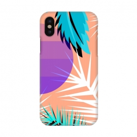 iPhone X  tropical pattern by MALLIKA