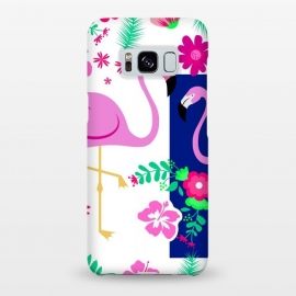 Galaxy S8+  FLAMINGO PATTERN 2 by MALLIKA