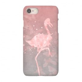 iPhone 8/7  Flamingo Watercolor Art by Andrea Haase