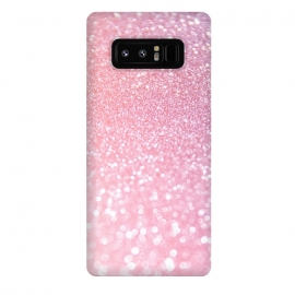 Galaxy Note 8  Girly Rose Gold Glitter by