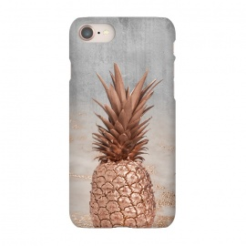 iPhone 8/7  Rose Gold Pineapple and Marble by Utart