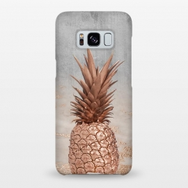 Rose Gold Pineapple and Marble by Utart