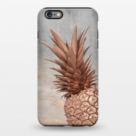 iPhone 6/6s plus  Rose Gold Pineapple on Congrete by Utart