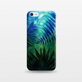 iPhone 5C  Aloha Blue Jungle Night by Utart