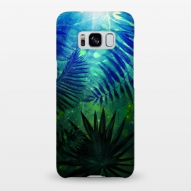 Galaxy S8+  Aloha Blue Jungle Night by Utart