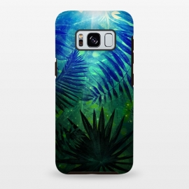 Galaxy S8 plus  Aloha Blue Jungle Night by