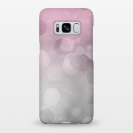 Galaxy S8+  Floating Lense Flares In Grey And Pink by Andrea Haase