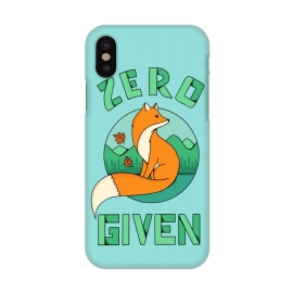iPhone X  Zero Fox Given by Coffee Man