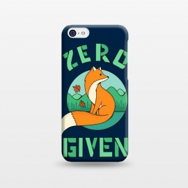 iPhone 5C  Zero Fox Given 2 by Coffee Man (fox, animal, animals, pet, pets, landscape,nature,outdoor,fun, funny, humor, cute, adorable,lettering)