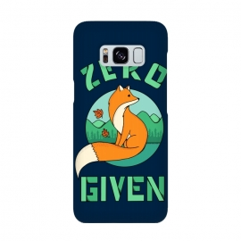 Zero Fox Given 2 by Coffee Man (fox, animal, animals, pet, pets, landscape,nature,outdoor,fun, funny, humor, cute, adorable,lettering)