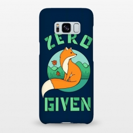 Galaxy S8+  Zero Fox Given 2 by Coffee Man (fox, animal, animals, pet, pets, landscape,nature,outdoor,fun, funny, humor, cute, adorable,lettering)