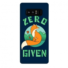 Galaxy Note 8  Zero Fox Given 2 by Coffee Man (fox, animal, animals, pet, pets, landscape,nature,outdoor,fun, funny, humor, cute, adorable,lettering)