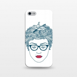 iPhone 5/5E/5s  Lady Ocean by Coffee Man