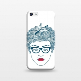 iPhone 5C  Lady Ocean by Coffee Man
