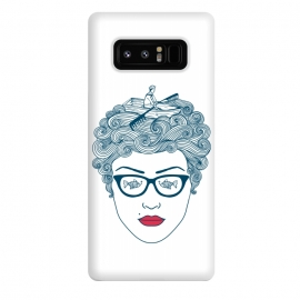 Galaxy Note 8  Lady Ocean by Coffee Man