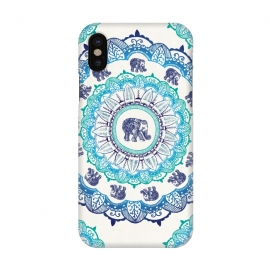 iPhone X  Lucky Elephant  by Rose Halsey
